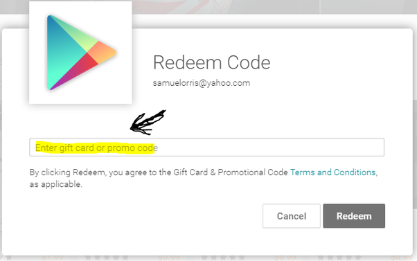 How to redeem google play codes quora 4 you will told for the confirmation click yes fandeluxe Images