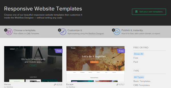 Where can i find the professional responsive website for Getbootstrap com templates