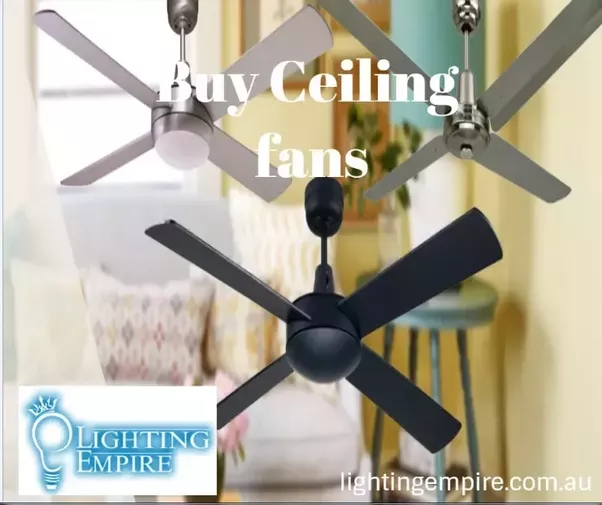 Lighting empire provides best led ceiling fans black ceiling fans designer ceiling fans this brand is very much affordable