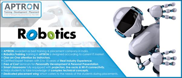 What Is The Best Robotic Training Institute In Noida Quora
