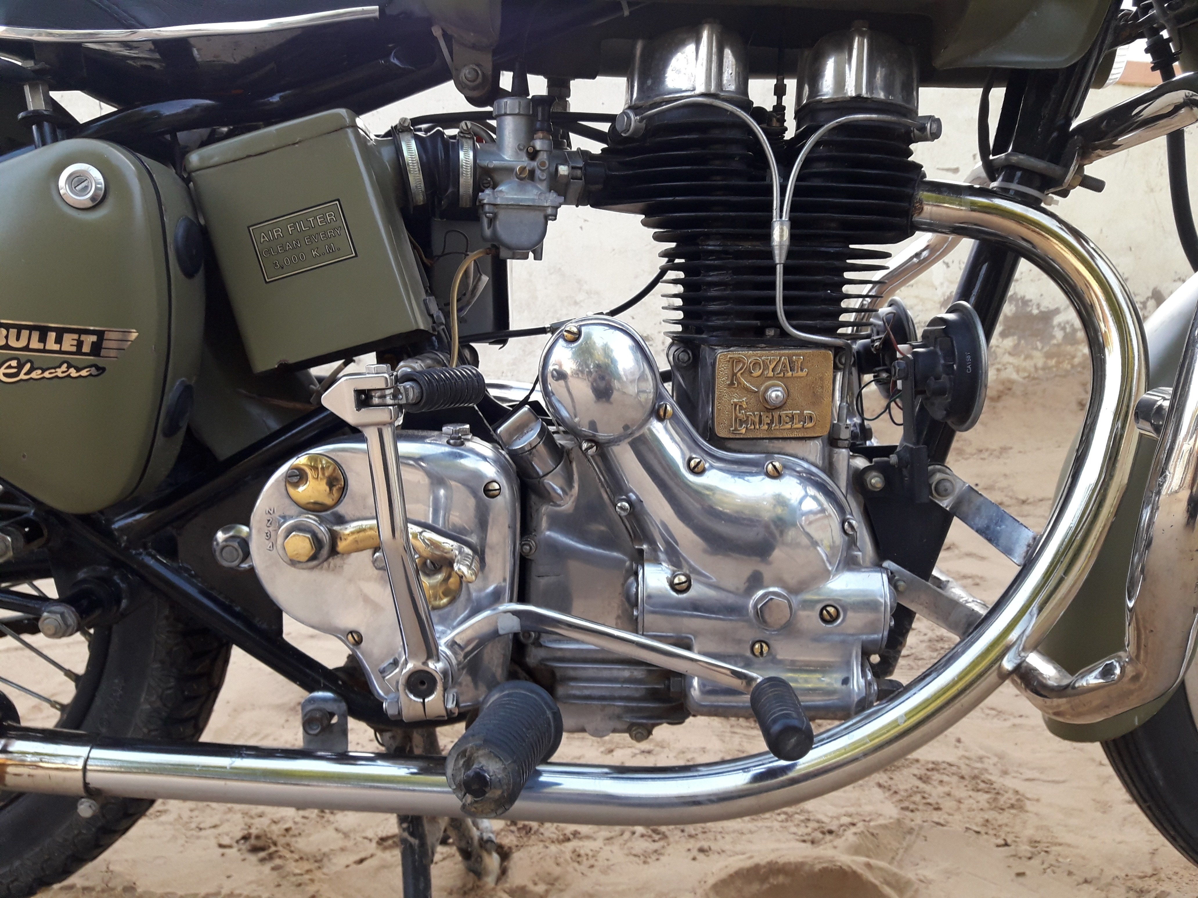How much does an engine buffing cost for Royal Enfield? - Quora