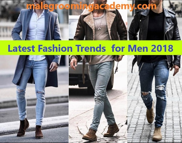 5914ccb990 What are the latest fashion trends for men in 2018  - Quora
