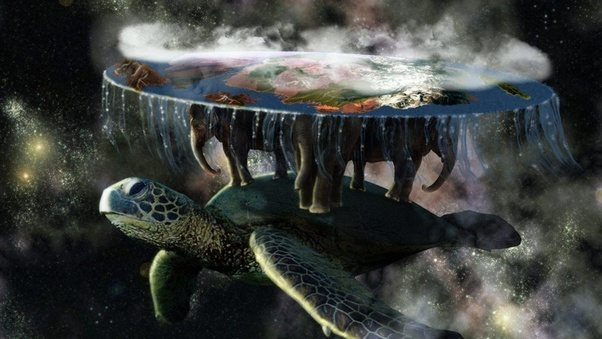 I Mean Imagine Living On A World Below Thats Supported By Giant Elephants And Pulled Along Super Huge Turtle