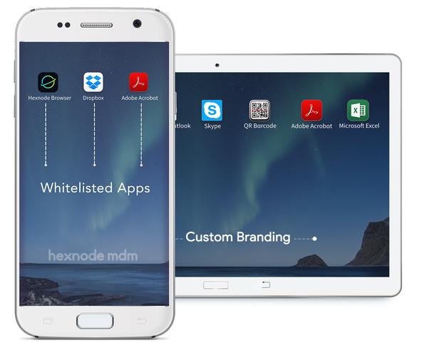 Android single app kiosk