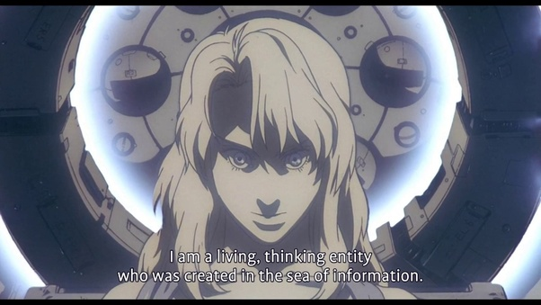 In The Japanese Manga Ghost In The Shell Is The Ghost Supposed To Be Something Real Or Is It Just Some Abstract Construct That Is Believed By The Characters In The Series