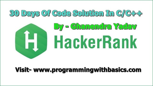 Where can I find the solution for HackerRank coding problems
