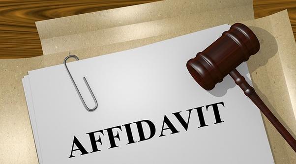 What is an affidavit? - Quora