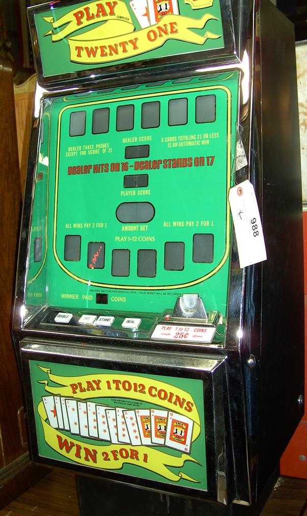 Video Blackjack Machines