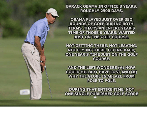 Why do most presidents play golf? - Quora