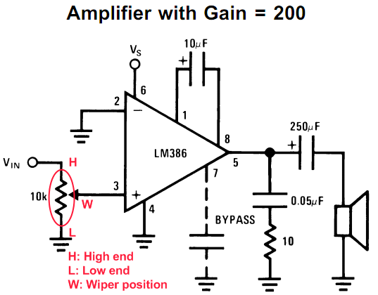 how to regulate volume using variable resistor quora rh quora com volume potentiometer connection Wiring a Potentiometer for Motor