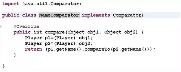 Whats The Difference Between Comparable And Comparator Interface
