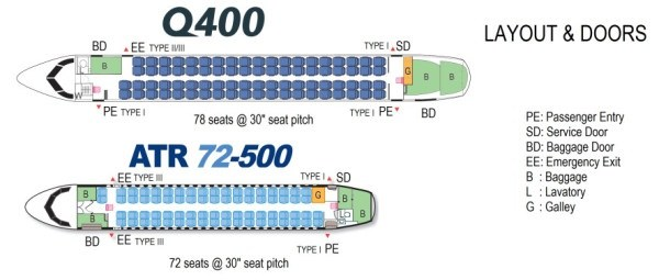 Which Is A Better Turboprop The Atr 72 Or The Q400 Quora