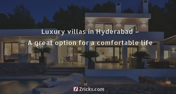 What are the best luxury villas in Hyderabad? - Quora