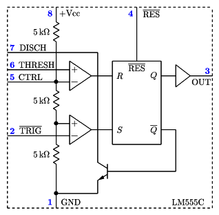 why is ic 555 called 555 why not 111 or any name quora rh quora com 555 Flasher Diagram 555 internal circuit diagram