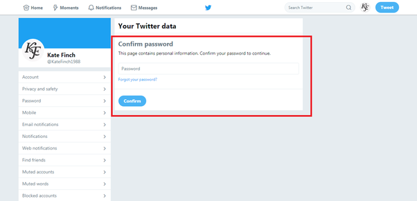 how to download twitter data for analysis