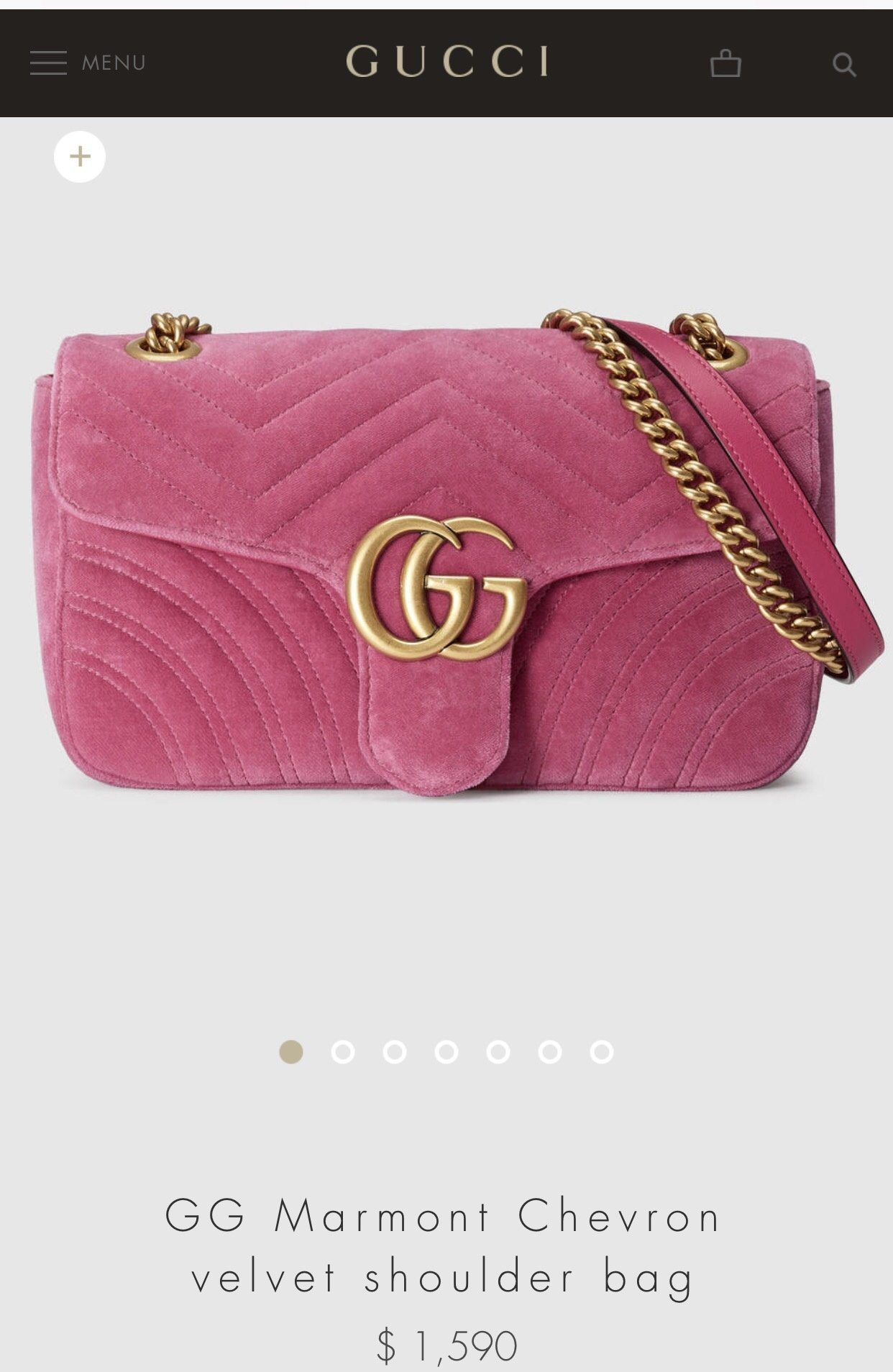 4c2fe97c891032 You'll see with Gucci, the same thing is true as well. You can get in with  an 'entry level bag' for roughly the same price as an entry level Louis  Vuitton.