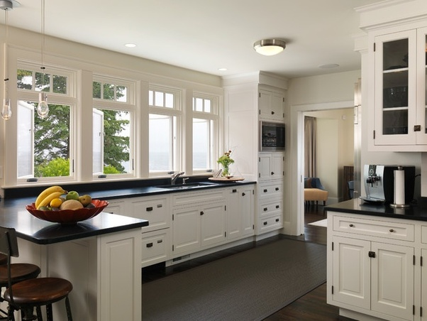 What is the best color combination for kitchen cabinets with ... Ideas For Painting A Kitchen Counter With White Top on