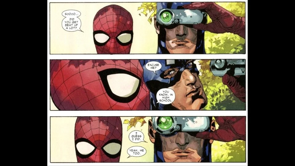 If Spider-Man is more powerful than super soldiers Bucky and