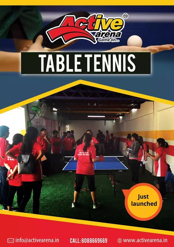 Is Table Tennis Available In Kundalahalli Bangalore Quora