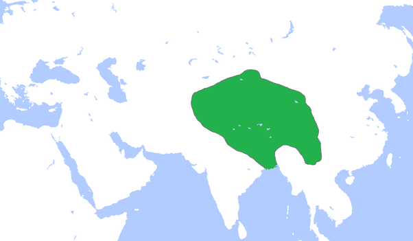 Map Of Asia 800 Ad.What Was The Tibetan Empire Like In Historic Bangladesh In 800 A D