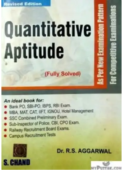 Which is the best book for reasoning and aptitude quora in the very beginning you should practice the r s agarwal books for aptitude and reasoning solutions are also available in this book fandeluxe