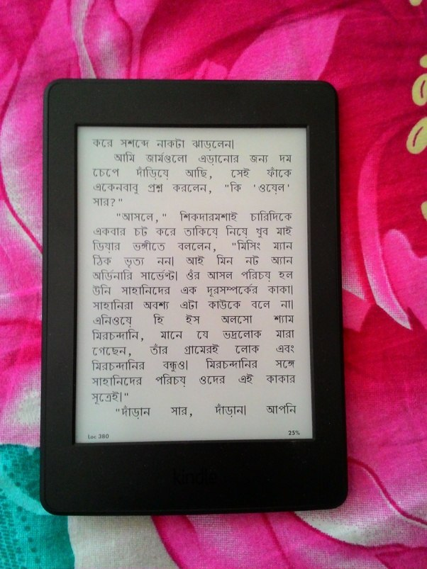 Does Kindle Support Bengali Quora