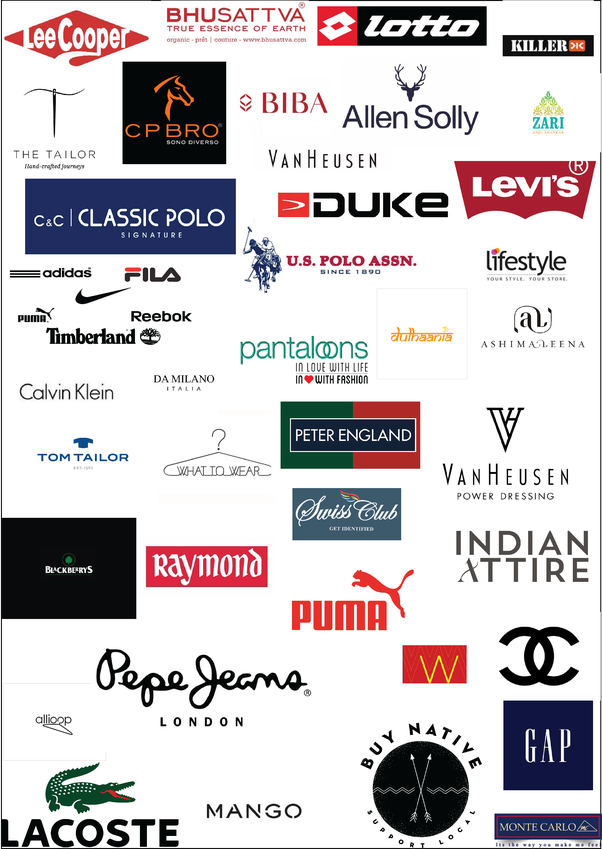 What are the best clothing brands for men in India?