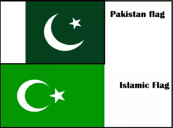 Why Do I See Small Pakistan Flags Hung In Muslim Dominated Areas Of