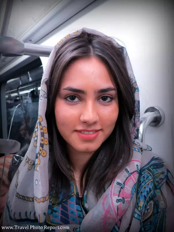 how come persian girls look middle eastern but persian