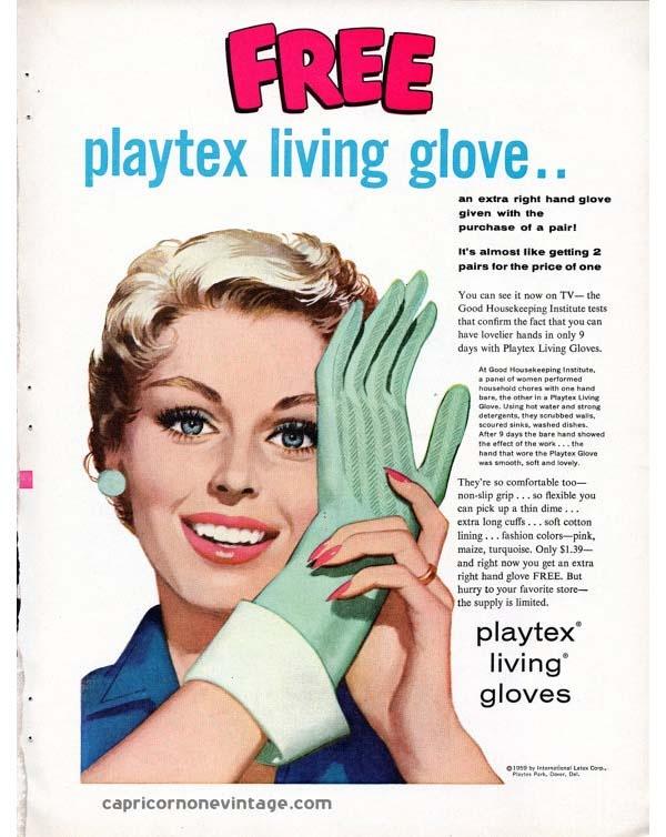Masturbation rubber glove women