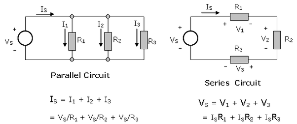 what is the difference between a series circuit and a parallel rh quora com Simple Circuit Diagram series circuit vs parallel circuit diagram