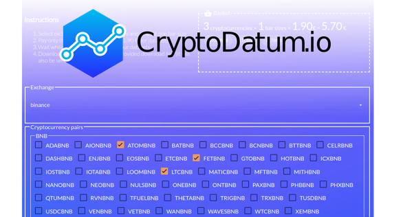 data cryptocurrency price