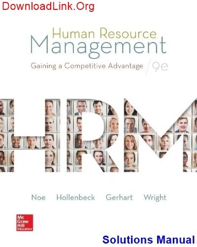 How to download the Solutions Manual for Human Resource Management