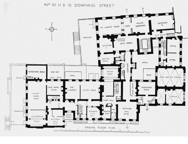 Why does the British Prime Minister live in a little terraced house – British House Floor Plans