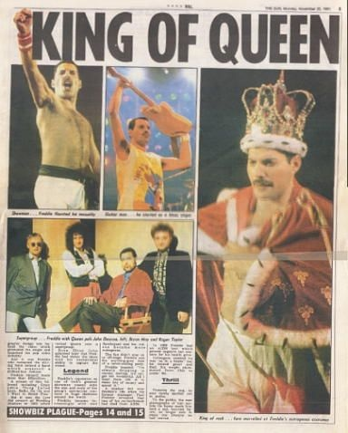 What Was It Like The Day Freddie Mercury Died Did People Care Were They Shocked Was It Quick News With People Moving On Quickly How Did Fans React Quora