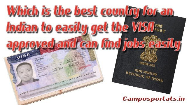 Which is the best country for an Indian to easily get the