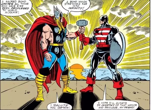 why are other avengers not worthy to lift thor s hammer except