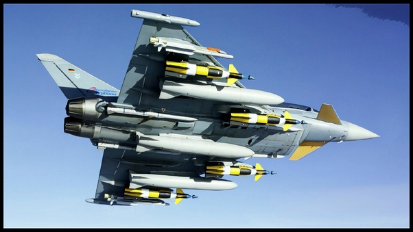 Between Eurofighter Typhoon, Dassault Rafale and Sukhoi SU35, which