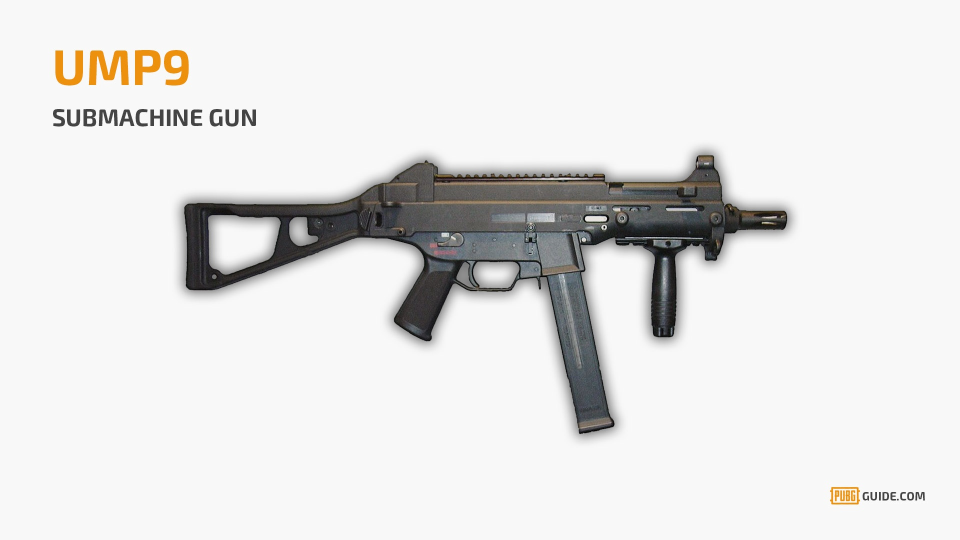 If For Some Reason You Cannot Find The Tommy Gun, Then Try To Look Out For  The UMP9 Submachine Gun. It Is The Second Most Powerful SMG After The Tommy  Gun, ...
