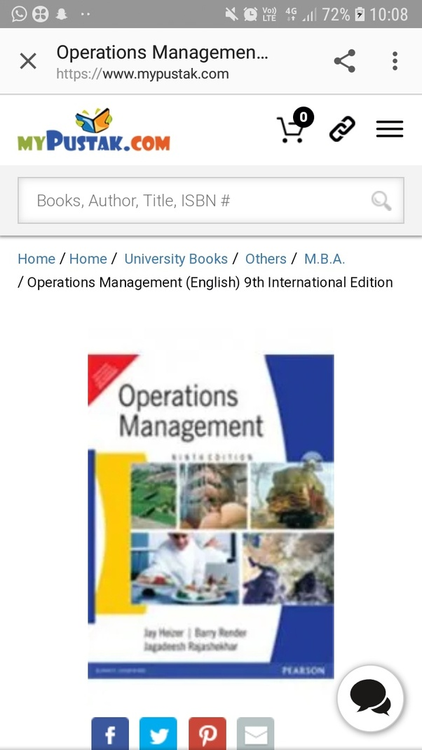 Ebook Production And Operations Analysis