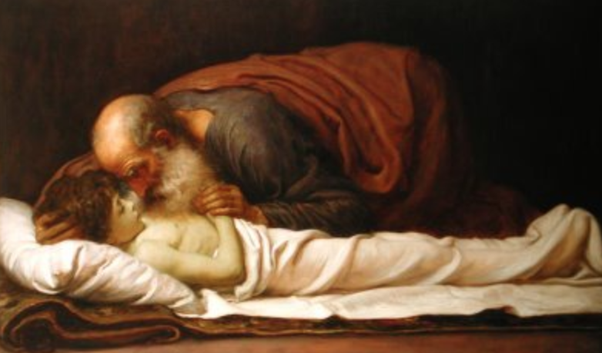 Revelation 1:5 says Jesus was the firstborn from the dead