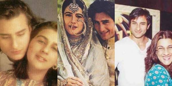 why did saif ali khan marry amrita singh quora
