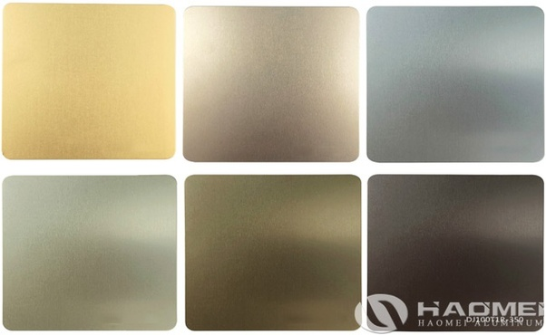 What are the coloring processes of anodized sheet aluminum? - Quora