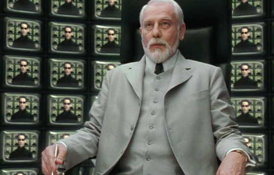 In The Matrix Reloaded, who is the Architect, and what's he talking about?