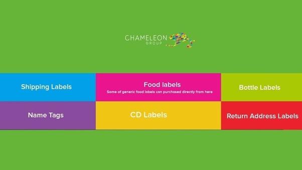 cheap label printing services online australia chameleon print