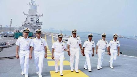 What is the difference between Indian Navy and Indian coast