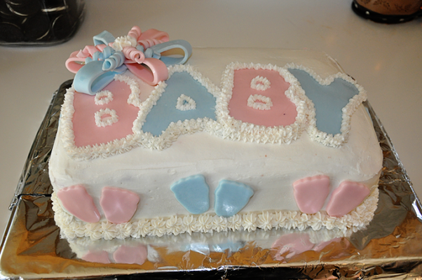 i m planning on a baby shower cake for my cousin what