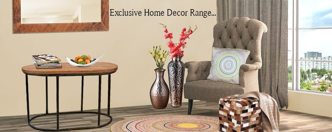 Visit : Home Decorating Accessories: Buy Home Decor Products Online At  MaddHome
