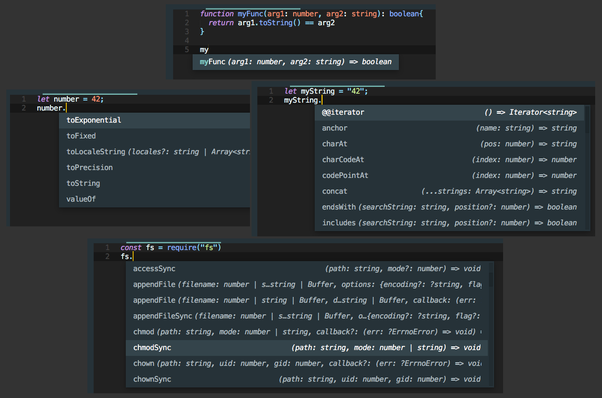 What is the best JavaScript autocomplete package for Sublime