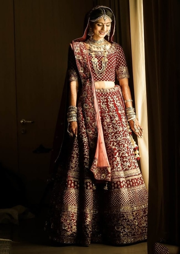 ecf565f09cc ... women like to buy wedding lehenga online because they get more choice  in design and color with good discount. There are many e-commerce website  in India ...